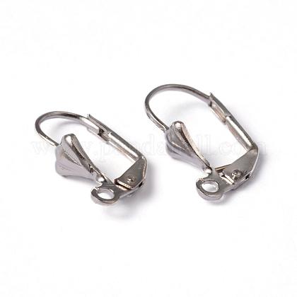 Brass Leverback Earring FindingsX-EC561-NF-1