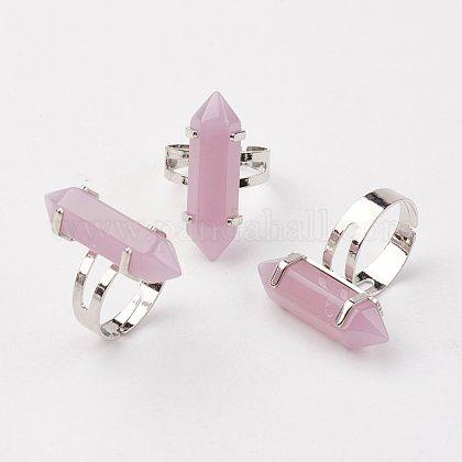 Bala anillos de cristalRJEW-P120-B03-1
