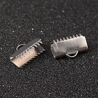 304ステンレス鋼リボンカシメエンドパーツSTAS-K124-06P-1