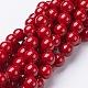 Natural Mashan Jade Round Beads StrandsG-D263-10mm-XS31-1