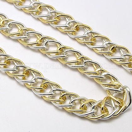 Aluminio cadenas de doble enlaceCHA-M002-01C-FF-1