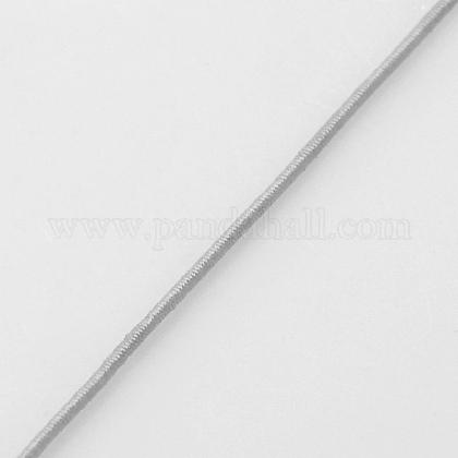 Hilos cuerdas de nylon joyas rebordear redondas elásticasNWIR-L003-C-13-1