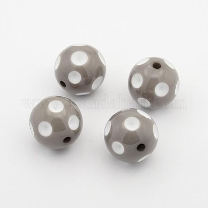 Bolas de acrílico de chicle gruesoSACR-S146-20mm-20-1