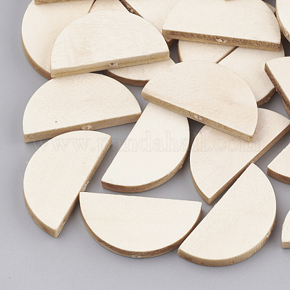 Unfinished Wood Beads WOOD-T008-12A-1