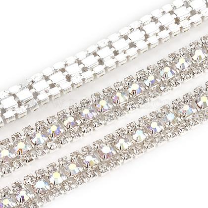 Cadenas de strass Diamante de imitación de bronceCHC-T006-01C-1