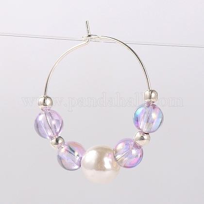 Transparent Acrylic Beads Wine Glass CharmsAJEW-JO00019-01-1