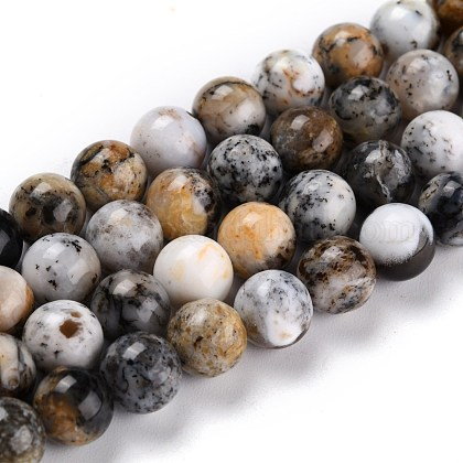 Perles d'opale africaine naturelleG-P446-01B-1