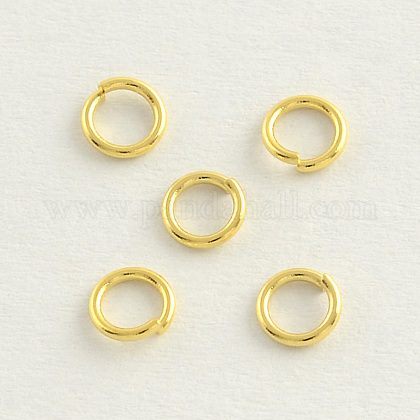 304 Stainless Steel Close but Unsoldered Jump RingsSTAS-R060-4x0.6-1