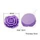 Flor de resina abalorios rosaX-RESI-RB111-A56-1