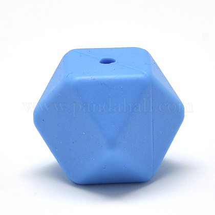 Abalorios de silicona ambiental de grado alimenticioSIL-Q009A-07-1