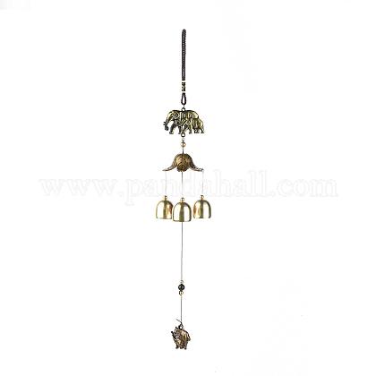 Campanas de viento de hierroHJEW-WH0006-16-1