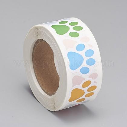 Etiquetas autoadhesivas de etiquetas de regalo de papelDIY-G013-E01-1