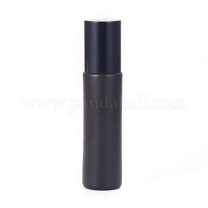 10mlのすりガラスの空の香水ローラーボールボトルMRMJ-WH0059-49-1