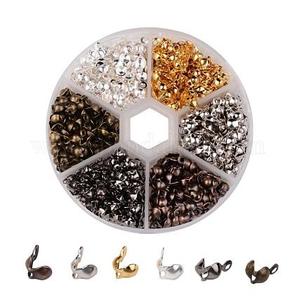 1 Box Mixed Color Iron Bead TipsIFIN-X0024-NF-B-1