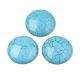 Cabuchones de turquesa sintéticaTURQ-S291-03M-01-2