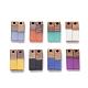 Colgantes de resina y madera de nogal de 8 coloresRESI-X0001-27-1