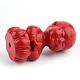 Buddhist Monk Cinnabar BeadsCARL-Q004-26-5