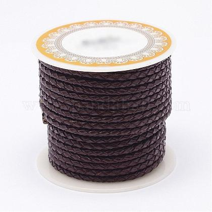 Braided Leather CordNWIR-N005-01B-5mm-1