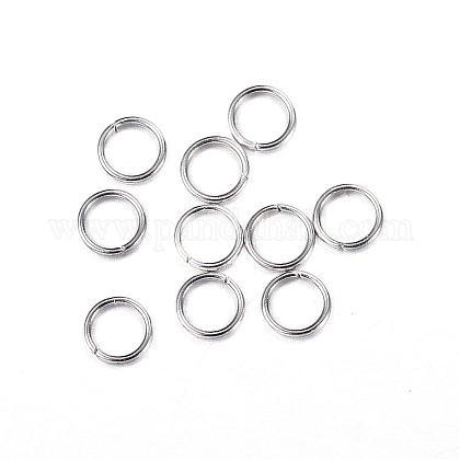 304 Stainless Steel Jump RingsSTAS-N0014-71P-3mm-1