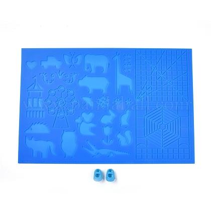 3d печатная ручка силиконовый дизайн матDIY-WH0156-81-1