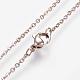 304 Stainless Steel Jewelry SetsSJEW-O088-02RG-4