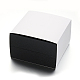 Square PU Leather Jewelry Boxes for Watch CON-M004-08-2