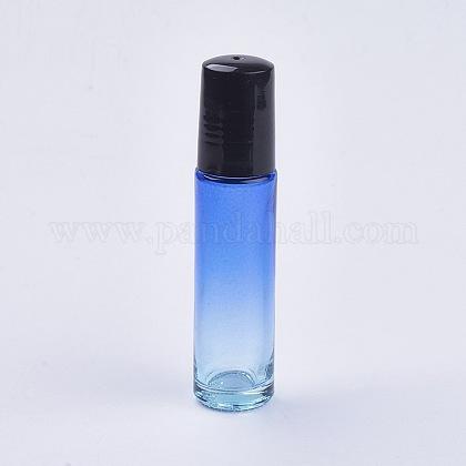 Botellas vacías de bolas de rodillo de aceite esencial de color degradado de vidrio de 10 mlMRMJ-WH0011-B01-10ml-1