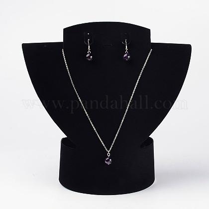 Expositores de joyería de terciopeloA2CDE021-1