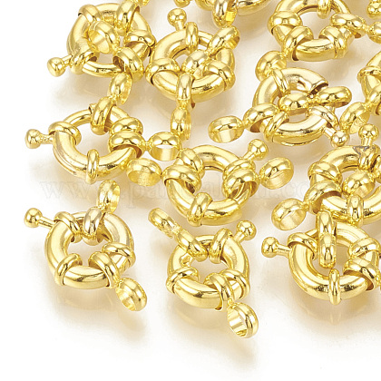 Cierres de anillo de resorte de latónX-KK-Q747-26E-G-1