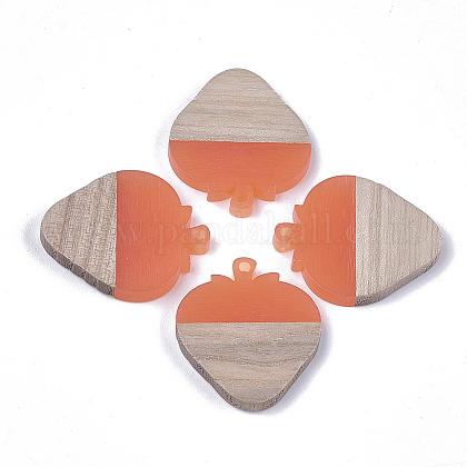 Colgantes de resina & maderaRESI-S358-42A-1
