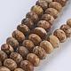 Natural Picture Jasper Beads StrandsG-P354-04-8x5mm-1