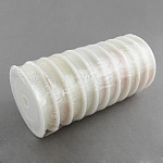 Elastic Crystal Thread, For Jewelry Making, Clear, 0.8mm; about 8m/roll, 10rolls/group