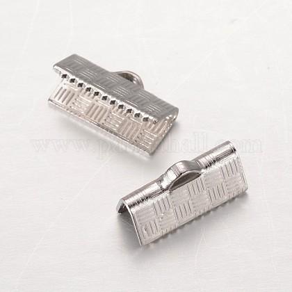 304ステンレス鋼リボンカシメエンドパーツSTAS-G140-20P-1