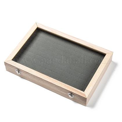 Cajas de presentación del anillo de maderaODIS-P006-05-1