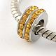 316 Stainless Steel Column Large Hole BeadsSTAS-R082-AA104-13-1