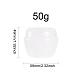 Tarro de crema de hongos portátil de plástico de 50g ppMRMJ-BC0001-39-2