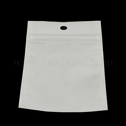 Sacs de fermeture à glissière en plastique de film de perleOPP-R003-16x24-1