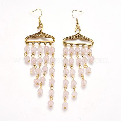Tibetan Style Alloy Chandelier EarringsX-EJEW-JE02494-02-1