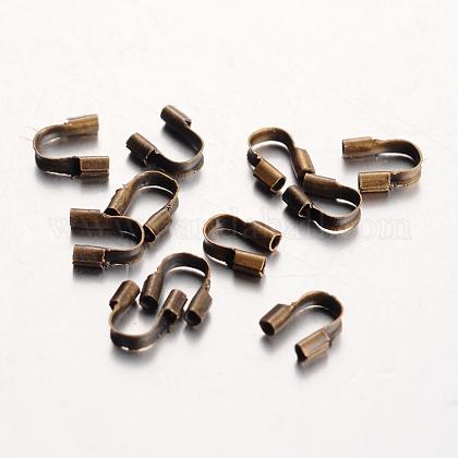 Environmental Rack Plating Brass Wire GuardiansKK-I606-30AB-NR-1