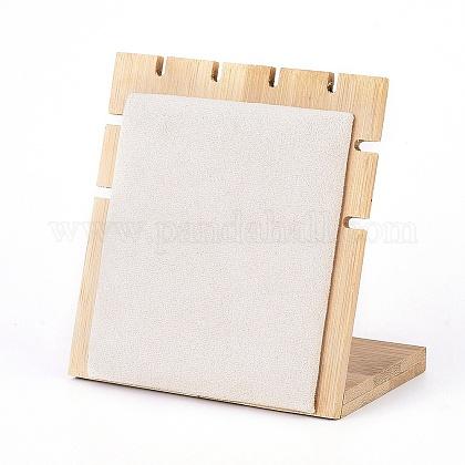 Expositor de collar de bambúNDIS-E022-05-1