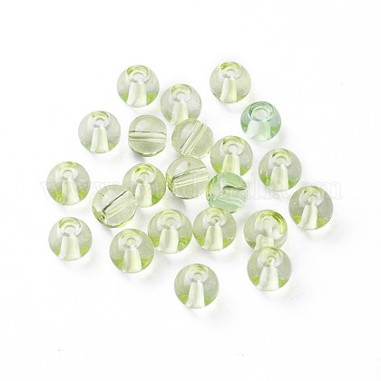 Glass Beads GLAA-P034-8mm-02-1
