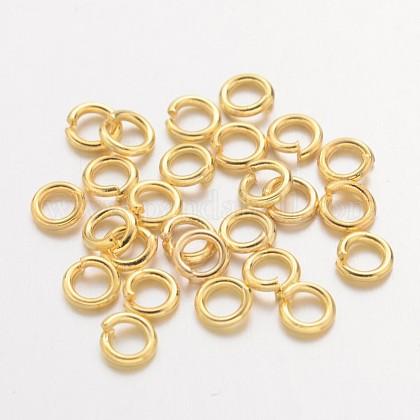 Anillos de cobre amarillo del saltoX-JRC4MM-G-1