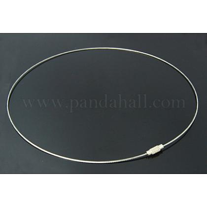 Steel Necklace MakingsX-SW042-01-1