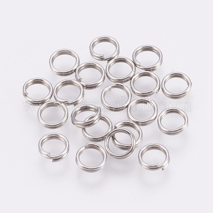 304 Stainless Steel Split RingsSTAS-E010-5x1mm-2-1