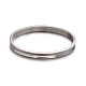 Fashionable Unisex 304 Stainless Steel BanglesBJEW-L552-02D-6mm-1