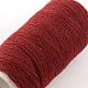 Cordones de hilo de coser de poliéster 402 para tela o diy artesanalOCOR-R028-A03-4