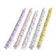 Cadenas de cable de plástico ccb hechas a manoAJEW-JB00667-1