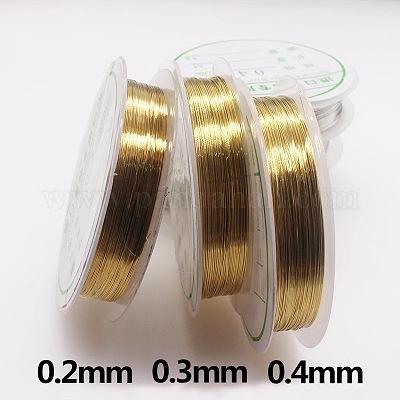 Joyas alambre modellierdraht cobre 0,4mm//10m nenad-Design r013