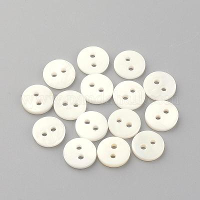 Freshwater Shell Buttons Freshwater Shell Buttons SHEL-S238 2 inch Extra Large Shell Buttons 5cm