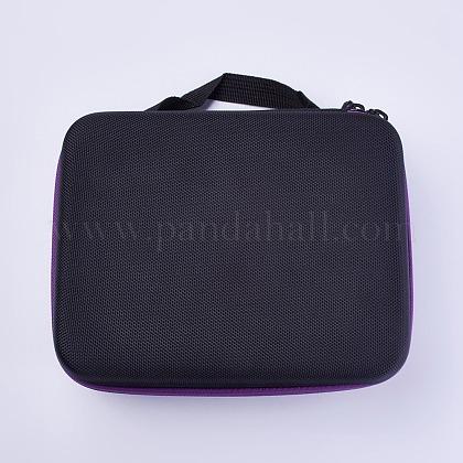 Nylon Portable Essential Oil Storage BagAJEW-WH0086-01-1